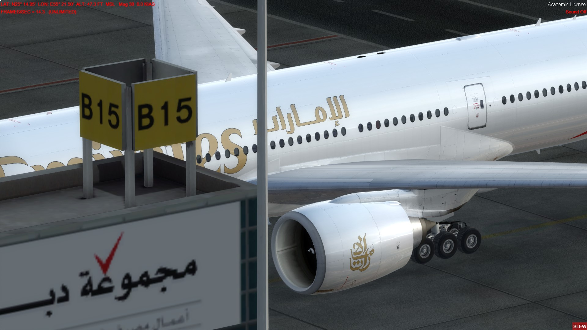 B77L at Gate B15