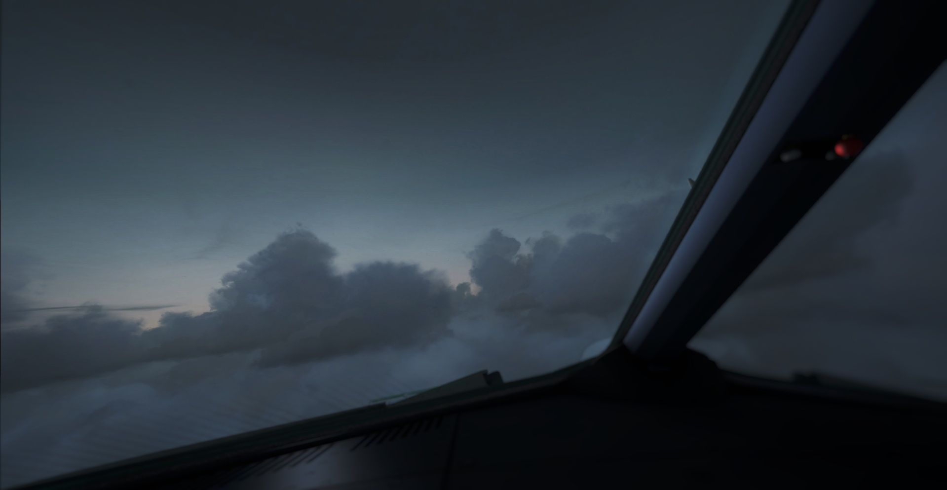 LSZH - OMDB, Deadly clouds